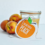You Are Such a Peach Printable