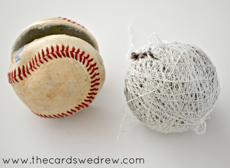 skin your baseball