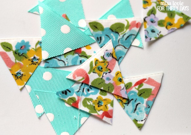 04 Easy No Sew Bunting