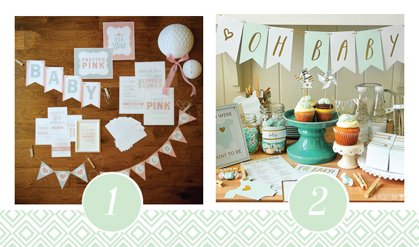 Baby Shower Printable Pack