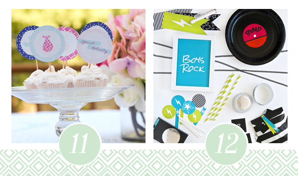 Printable Baby Shower Pack 6