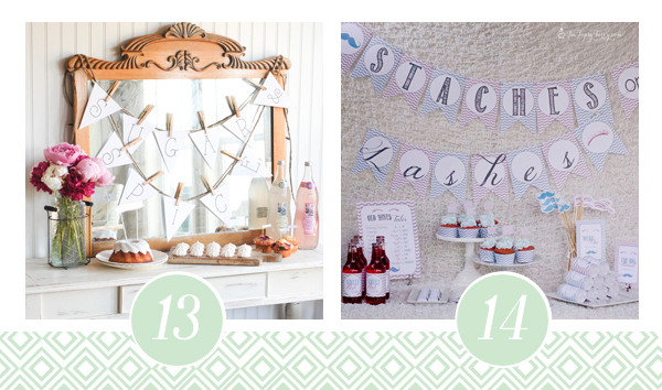 Printable Baby Shower Pack 7