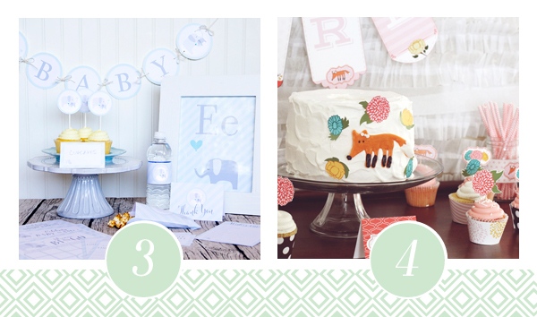 Printable Baby Shower Pack 2