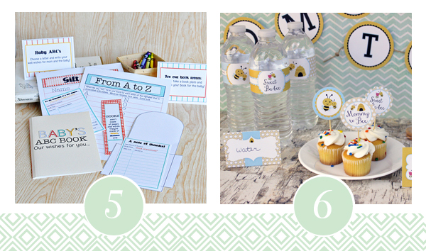 Printable Baby Shower Pack 3