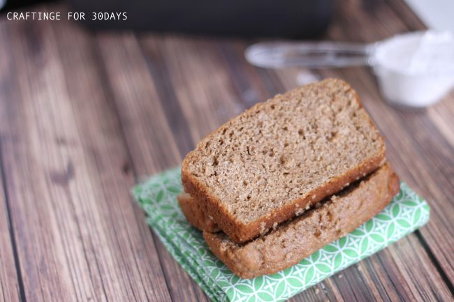 Amazing Whole Wheat Bread from Craftinge