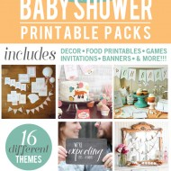 The Biggest Set of Baby Shower Printables You'll Ever See
