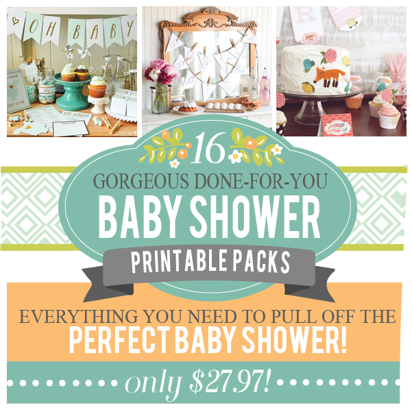 Amazing Baby Shower Pack - over 400 pages!
