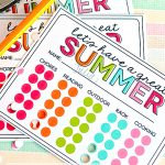 Summer Activity Punch Cards - use these punch cards to motivate kids to do something other than veg on electronics all summer.