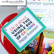 Summer Craft Bucket with Printable