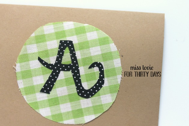 05 DIY Monogram Stationary