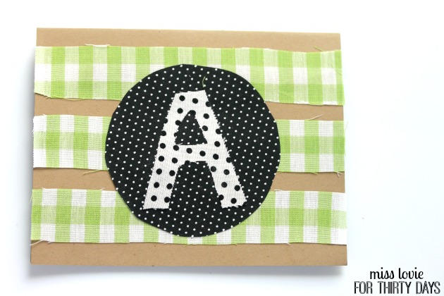 07 Monogram Stationary DIY