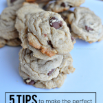 5 tips to make the perfect chocolate chip cookies every single time | Thirty Handmade Days