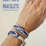 Easy Rope Bracelets
