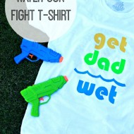 Water Gun Fight T-Shirt
