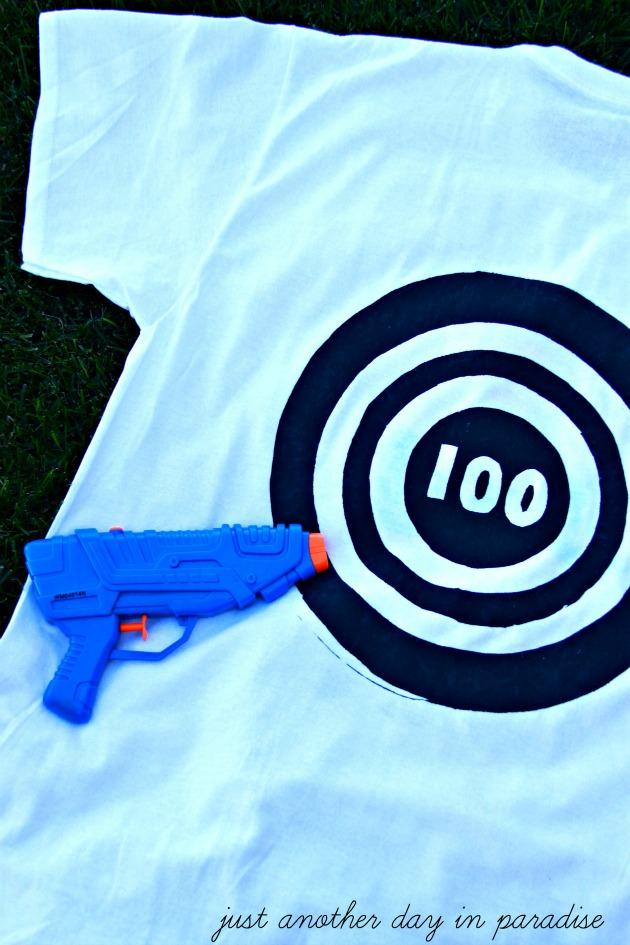 Water Gun Fight T-Shirt 2