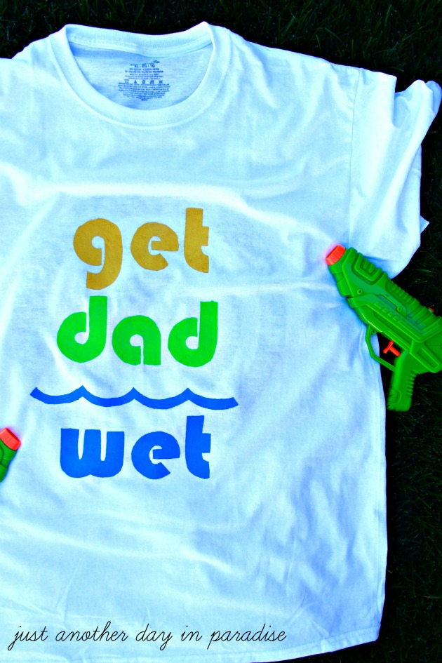 Water Gun Fight T-Shirt 3