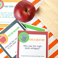 Printable Back to School Lunch Box Jokes