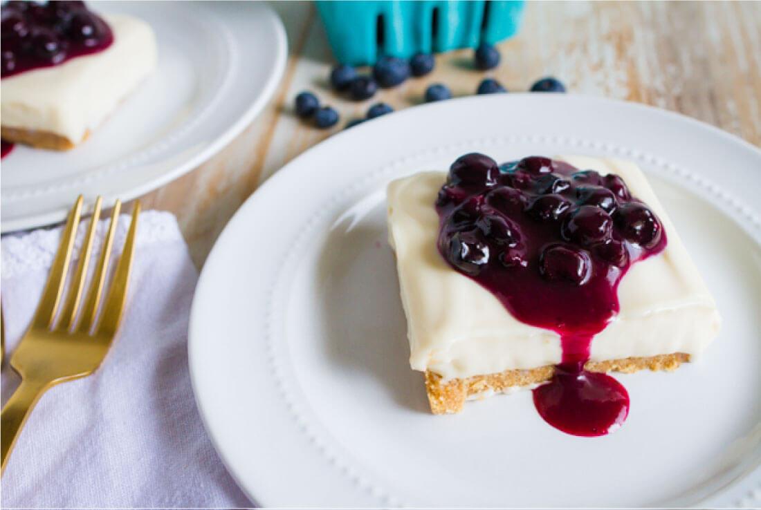 No Bake Cheesecake Recipe. from www.thirtyhandmadedays.com