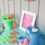 Fun and inexpensive splash party - less than $20.