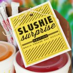Summer Treat - a slushie surprise printable from the Eighteen25 girls