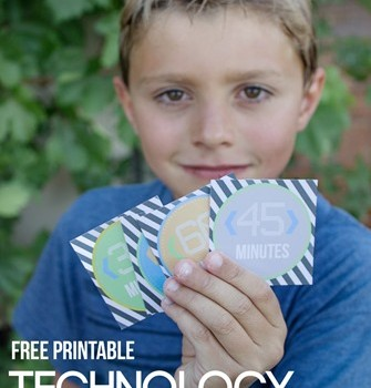 Printable Kids Technology Tokens