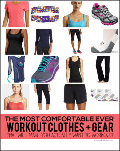 the Most Comfortable EVER Workout Clothes and Gear - that'll make you actually want to work out!