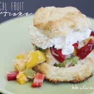 Tropical Fruit Shortcake