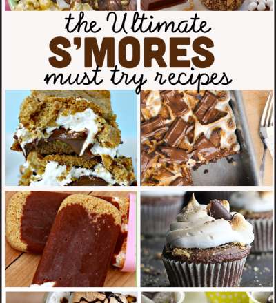 the Ultimate Must Try S'mores Recipes - a list of the best all time s'mores