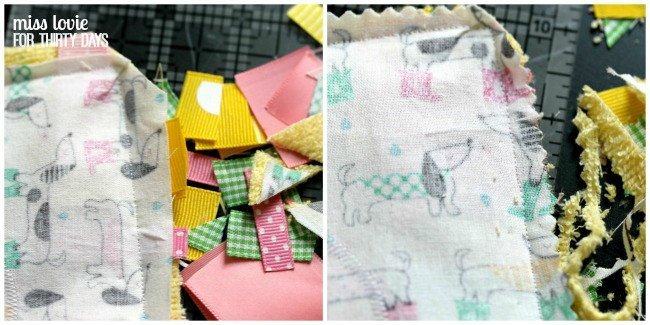 10 Easy Sew Baby Tag Toy