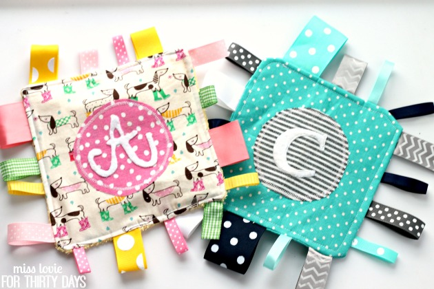 13 Easy Baby Taggie Toy