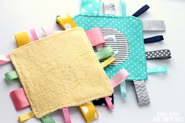16 Baby Tag Crinkle Toy tutorial