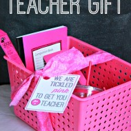 Back To School Teacher Gift (and printable)