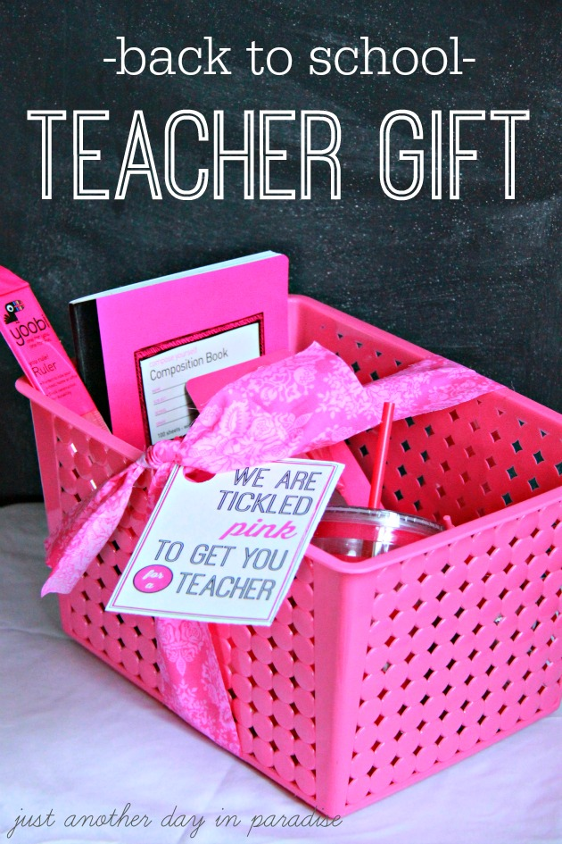 Back to school teacher printable for Gift with purchase ideas