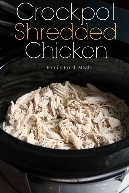 Easy Shredded Chicken for 100+ Meal Prep Ideas