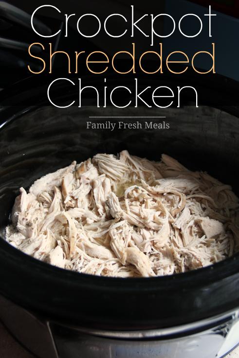 Easy Shredded Chicken for 100+ Meal Prep Ideas