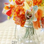 Super easy DIY fabric flowers