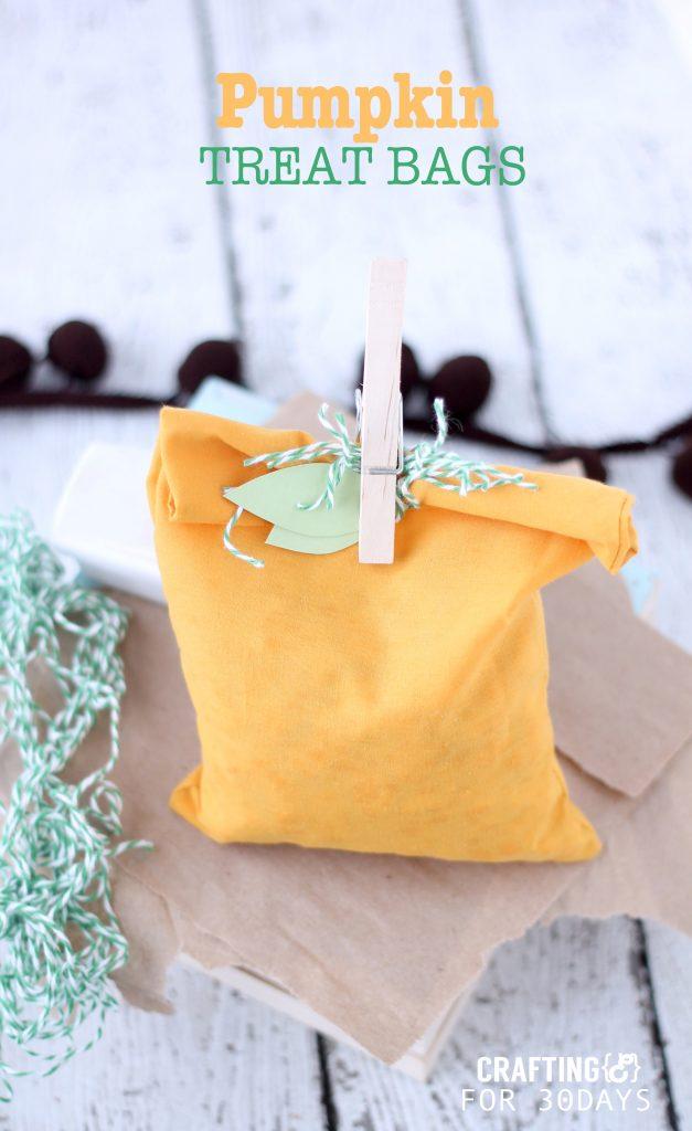 Simple Halloween Treat Bags