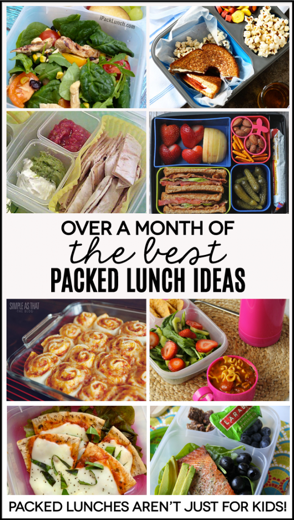 Packed lunch ideas not just for kids over a months worth of packed lunch ideas perfect for work because lunches aren forumfinder Images