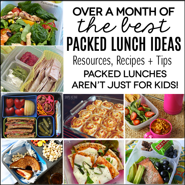 Packed lunch ideas not just for kids over a months worth of packed lunch ideas perfect for work because lunches aren forumfinder Choice Image