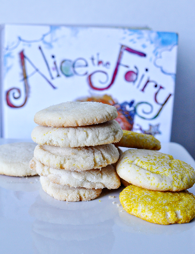 Fairy Dust Sugar Cookies - perfect for a party or to make with kids Thirty Handmade Days