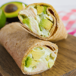 Avocado Chicken Wraps - a great alternative healthy dinner recipes.