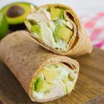 Avocado Chicken Wraps - a great alternative healthy dinner recipes.