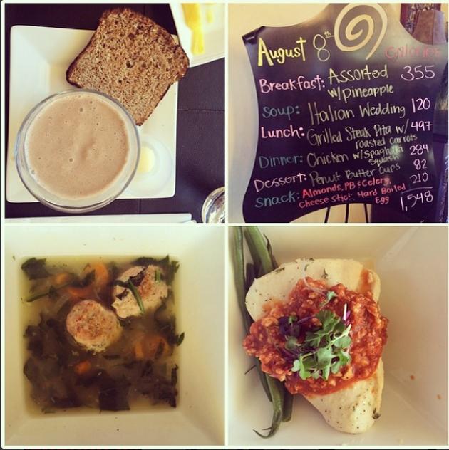food at Fitness Ridge