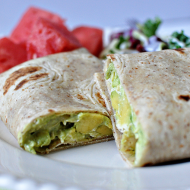 Avocado Chicken Wrap