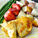 Simple Honey Mustard Baked Chicken from Thirty Handmade Days
