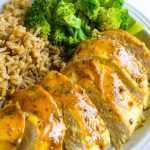 Honey Mustard Chicken - easy to make, baked and delicious.