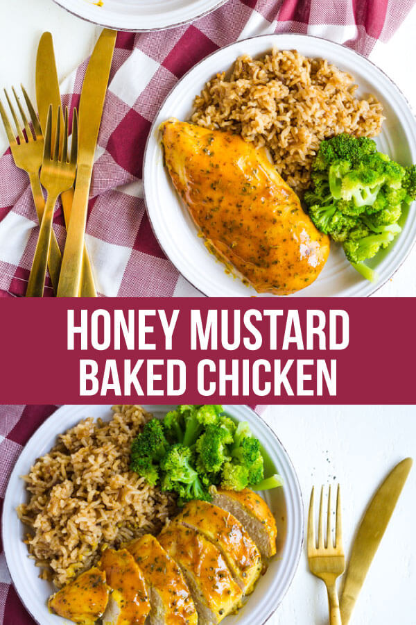 Honey Mustard Chicken - easy to make, baked and delicious. www.thirtyhandmadedays.com