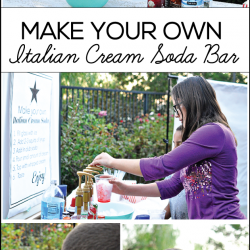 Make your own Italian Cream Soda Bar from Thirty Handmade Days