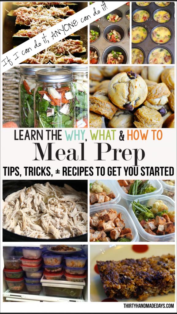 100 Easy Meal Prep Ideas