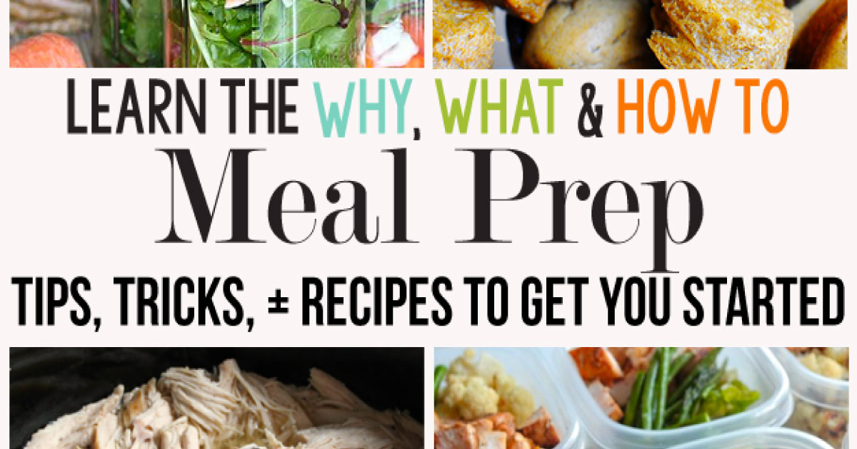 Meal Prep Ideas. The Why, What and How to Meal Prep